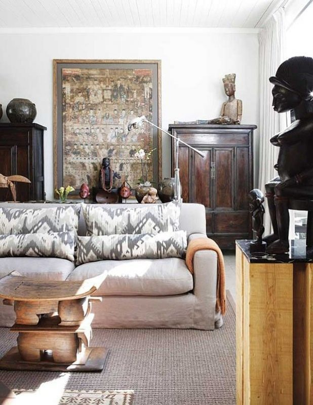Wild About African Inspired Interiors