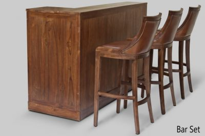 Bar Set Wood